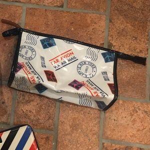 Kate Spade Avion Par Mail Cosmetic pouch